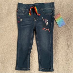 Vigoss Pull On Skinny Unicorn Jeans